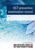 OCT preventive examination record