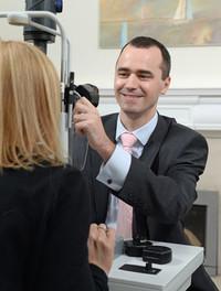 Special Guest Speaker Andrew Tatham, Consultant Ophthalmologist, Princess Alexandra Eye Pavillion.