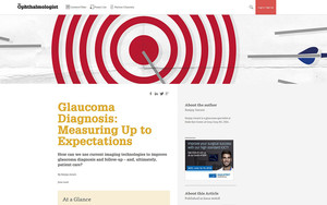 Glaucoma Diagnosis: Measuring Up to Expectations