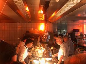 Küchenparty im Level 12