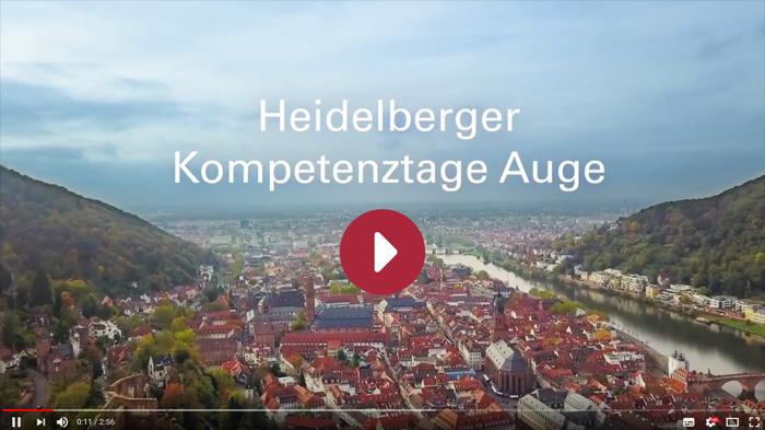 Interdisziplinäre Heidelberger Kompetenztage Auge