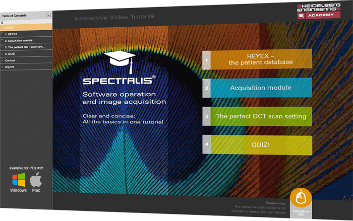 SPECTRALIS Basics